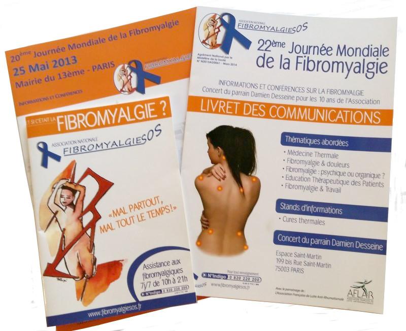 <b>Lot de livrets pour s'informer sur la fibromyalgie</b>