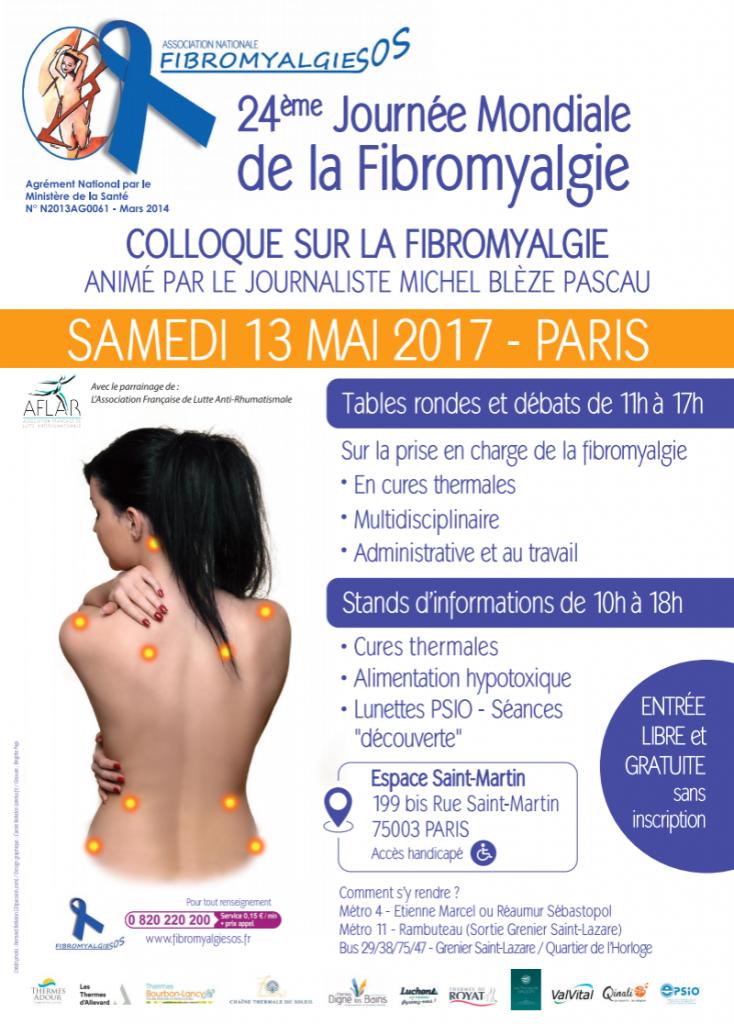 fibromyalgiesos 24 journ%C3%A9e affiche 1 734x1024 - Vendredi 12 Mai 2017 Journée Mondiale de la Fibromyalgie